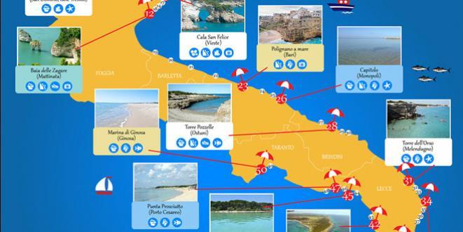 Cartina Mappa Spiagge Puglia.Hotel Puglia Nei Posti Piu Belli 2021 Charming Puglia